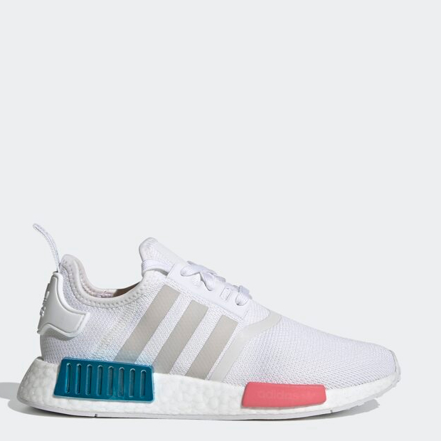 Size 8 - adidas NMD R1 White Gray Blue Rose 2020