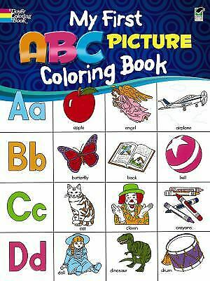 My First ABC Picture Coloring Book by Bunnell, Deb T.