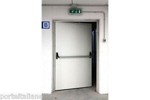 Porta tagliafuoc o antipanico rei 120 90 100 130 160 170 for Porta rei 120 dwg