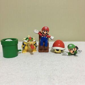Lot-x-5-Super-Mario-Bros-McDonalds-Happy-Meal-Figure-Toys