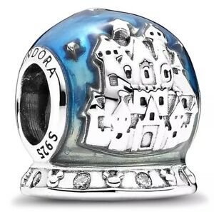 Hot Sale Pandora Disney Parks Snowglobe Charm Bead 925 Sterling Silver Ale Ebay