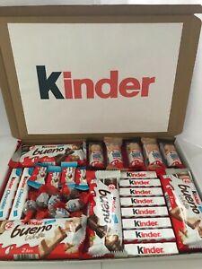 Détails Sur Kinder Chocolat Bueno Cadeau Fête Des Pères Professeur Anniversaire Enfants Personnalisé Afficher Le Titre Dorigine