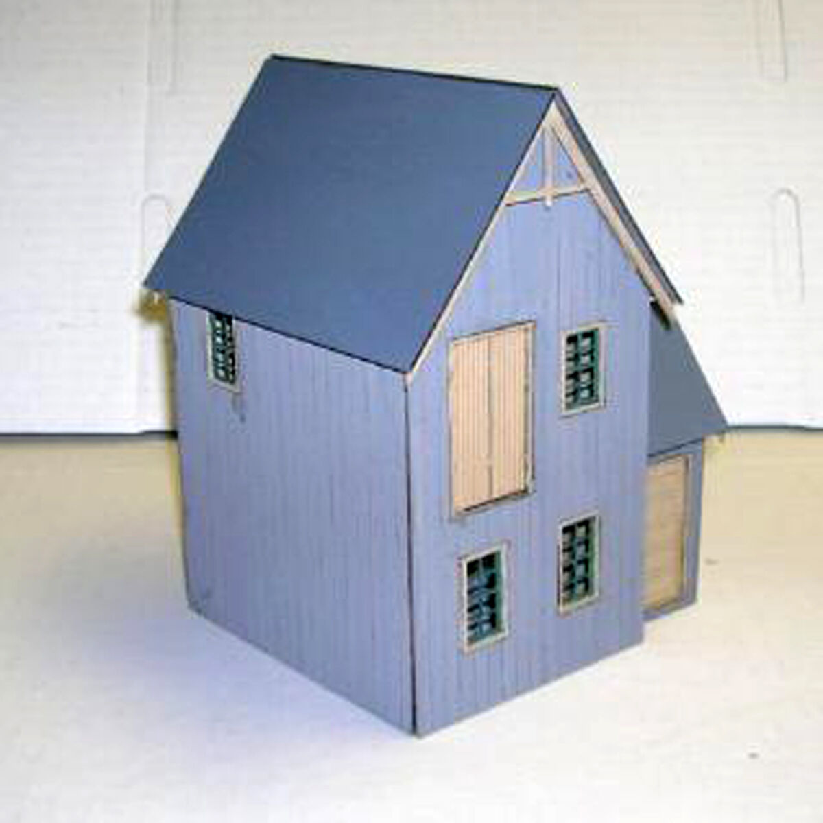 Cooper 's loft o 8. am30 modelleisenbahn struktur unlackiert holz - kit df418