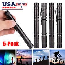 1X Pocket CREE XPE-R3 Pen Torch Mini Light Penlight Lamp LED Flashlight Clip