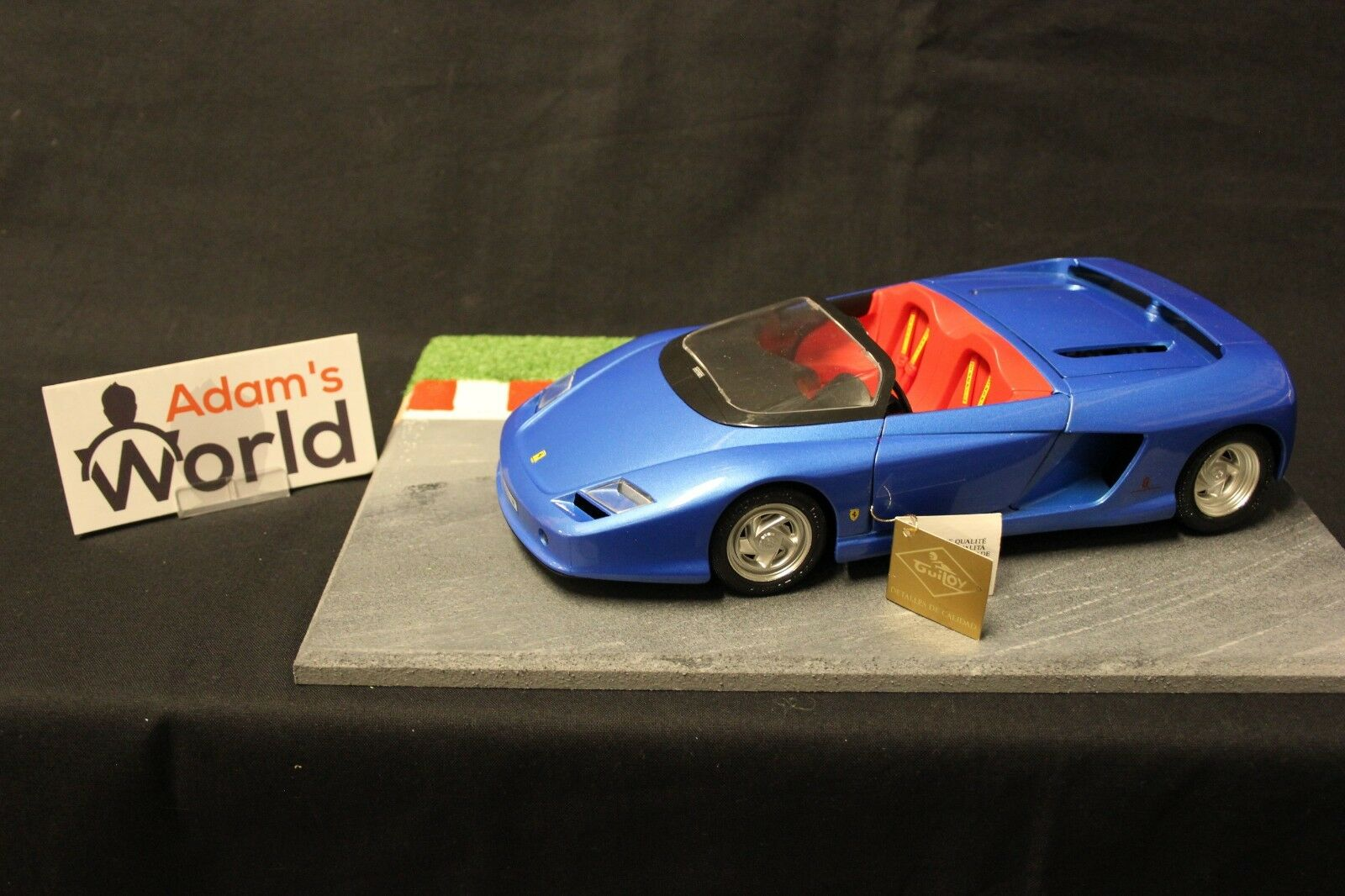 Guiloy Ferrari Mythos 1 18 bluee (FNB)