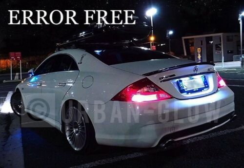 Mercedes CLS W203 LED Xenon Bright White Number Plate LIGHT Bulbs ERROR FREE