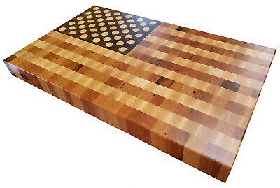 Cherry End Cutting Board Butcher Block USA