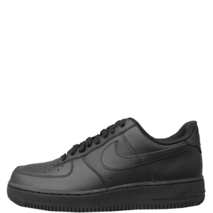 Nike-Air-Force-1-Low-07-Men-039-s-Sneakers-Casual-Black-Leather-Shoes-315122-001