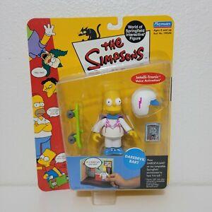 Playmates-The-Simpsons-DAREDEVIL-BART-Figure-World-of-Springfield-Series-8-2002