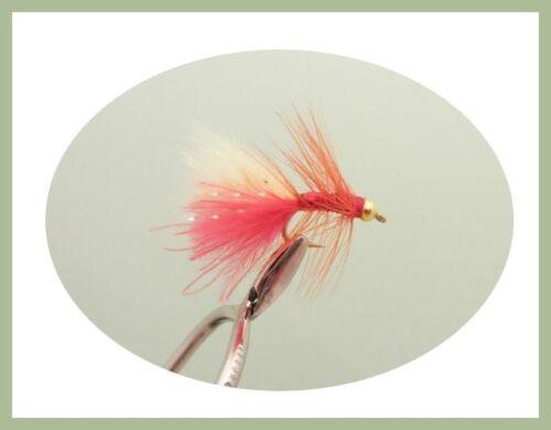 Details about  /18 x MINI Dancers Mini Lure Flies Dancers Trout Flies, mixed colour Size 12
