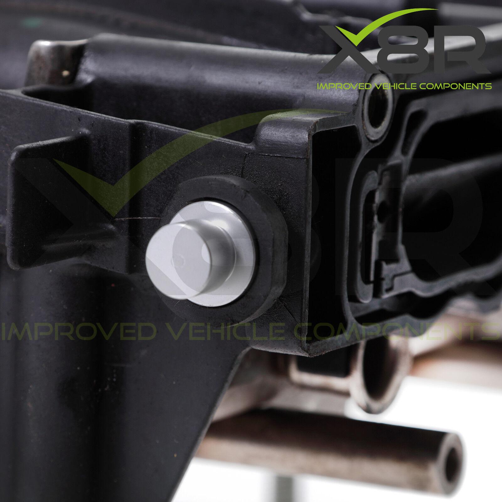 Inlet Intake Manifold Runner Flap Delete Removal Blanks Kit For Audi VW 2.0 TFSI