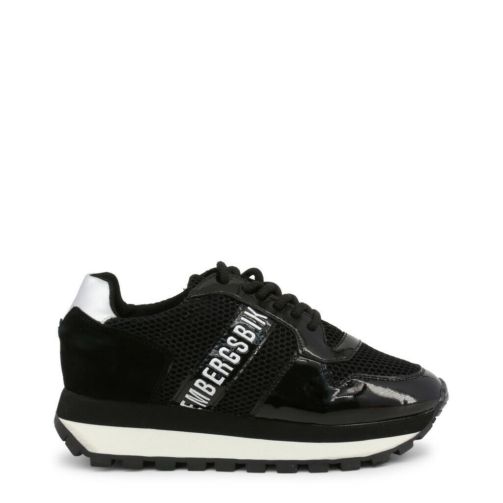 zapatos BIKKEMBERGS mujer FEND-ER_2087-MESH_negro negro FENDER 2019 zapatillas ZEPPA
