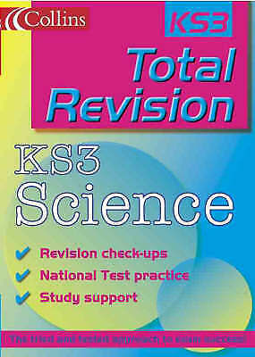 """""""AS NEW"""" Richardson, Ian,Goldsmith, Steve, Total Revision – KS3 Science (Collins"""