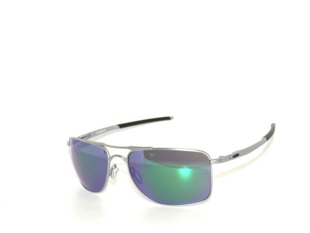 6f2cd8d1c8 Oakley Gauge 8 4124-04 62 Matte Lead Jade Iridium Sunglasses Clearance