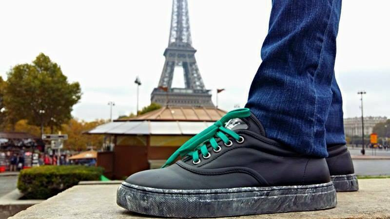 Handcrafted sneakers made in Italy with genuine Italian leather