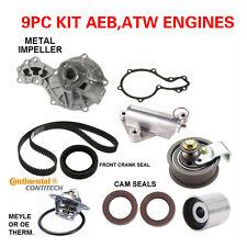 98-00 AUDI A4 , VW PASSAT 1.8 TIMING BELT WATER PUMP  KIT FITS AEB  6PCS