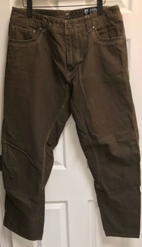 Kuhl Outkast Pants Men's 36x32 Brown