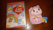 CAREBEARS Soft Plush Teddy Toy RETRO TV CHEER BEAR mobile phone case bag