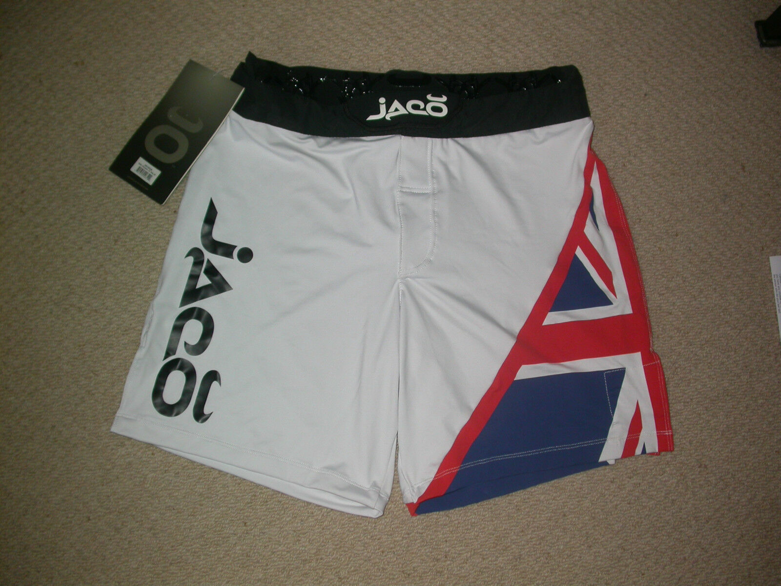 JACO SHORTS 38W EXTRA LARGE XL . MMA BJJ JIU JITSU UFC MUAY THAI BOXING GYM NEW
