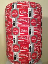 COCA COLA COKE SIGN SODA 5 GALLON WATER COOLER BOTTLE COVER KITCHEN DECORATION