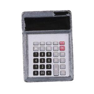 1-12-Dollhouse-Metal-Calculator-Home-Office-School-Miniature-Accessory-Decor-Px
