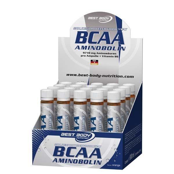 Best Body Nutrition (49,16EUR/L) BCAA Aminobolin - Ampullen - Aminosäuren