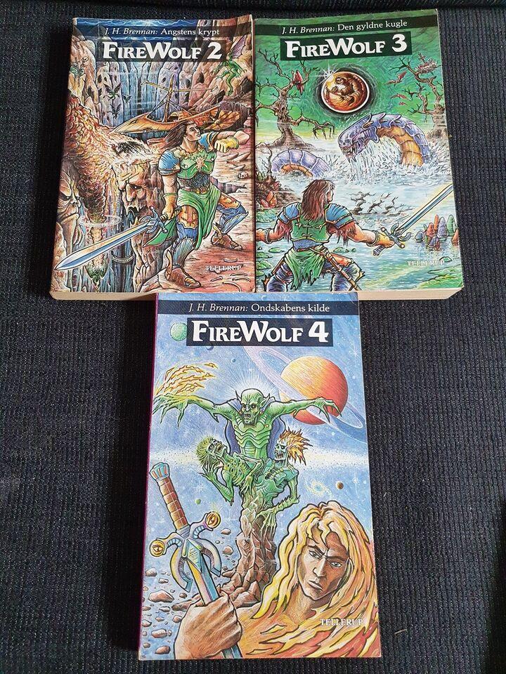 2+3+4 Fire Wolf, J. H. Brennan, genre: fantasy