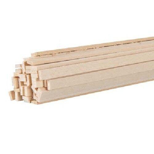 Bass Wood 3//32 x 1//4 x 24 BWS3205 30