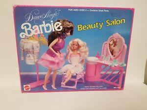 BARBIE-1990-DREAM-DANCE-BEAUTY-SALON-SET-NFRB-VERY-RARE-MATTEL-MADE-BY-ARCO