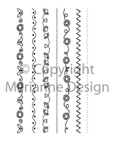 Marianne Design Stempel Daisy Dekorationen 163313