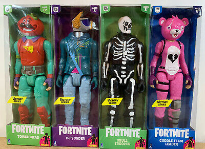 """FORTNITE SQUAD MODE VICTORY SERIES 12/"""" POSABLE FIGURES 4-PACK NEW SEALED FREE SH"""