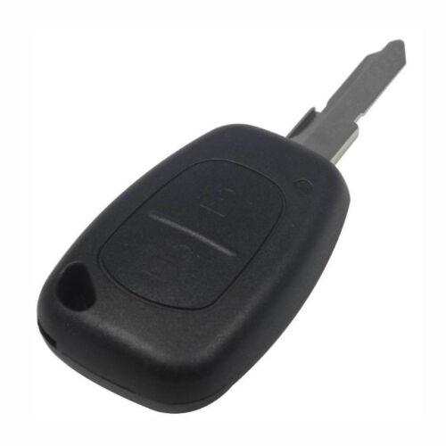 RE10 Schlüsselgehäuse mit Rohling 2 Tasten passend für Renault Clio I Clio II