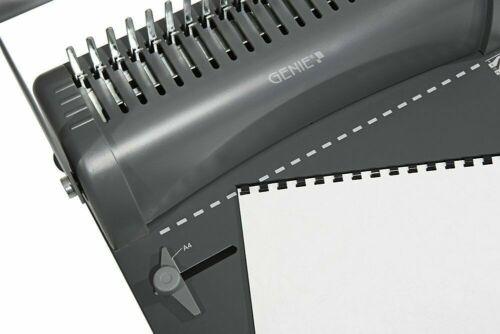 Genie Cb850 Binding Machine Spiralbindegerät Stanzgerät Binder A4 Book