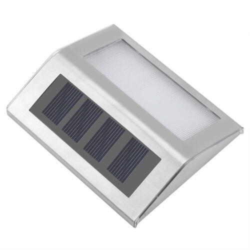 4PCS Solarleuchte mit Smart Senor Solarstrahler Außenleuchte Gartenlampe
