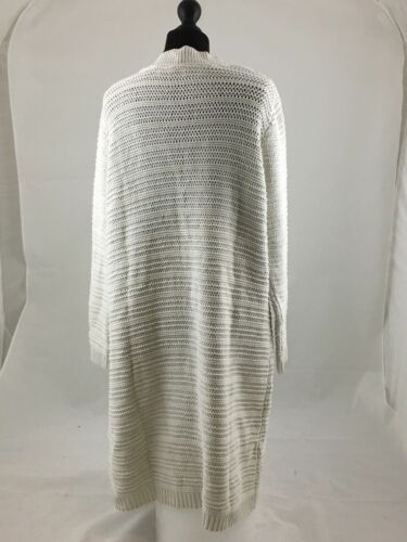 Anthology Cardigan donna bianco lungo taglia medio qtPwft1c