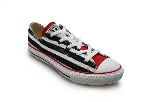 Junior Converse Ct Ox - 639606C - Athletic Marineblau Weiß Weiß Marineblau Rot Turnschuhe 059d9f