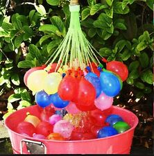 555 FAST FILL Magic Water Balloons Kids OUTDOOR Party summer bunch o SELF SEAL