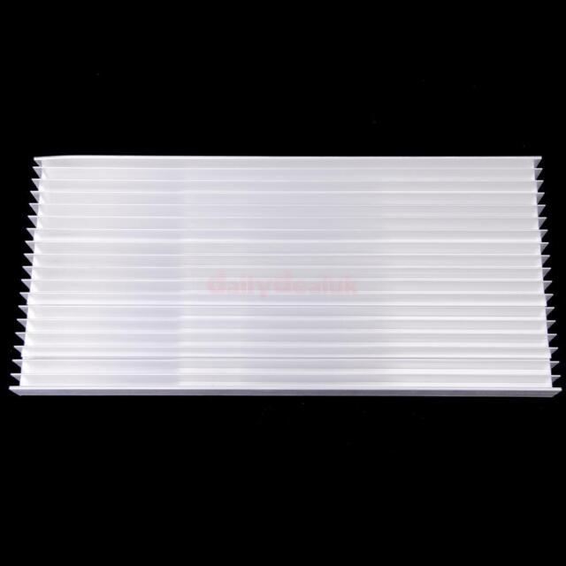 300*140*20mm Aluminum HeatSink for LED & Power IC Transistor Module PBC