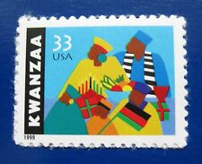 Sc # 3368 ~ 33 cent Kwanzaa Issue (be4)