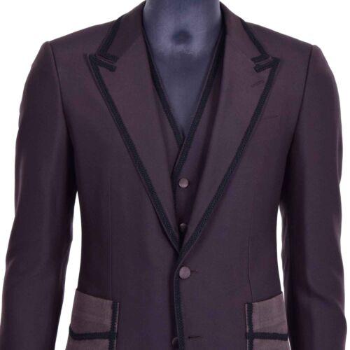 Sicilia amp; Braun Sakko Weste Stickerei 3 Anzug Gabbana Blazer 06902 Teile Dolce fEdqwRw