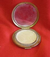 Vintage Stratton Powder Compact - Gold Tone - Used - With Mirror