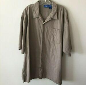Ocean-Pacific-Op-Hawaiian-Aloha-Camp-Shirt-Men-039-s-XXL-2XL