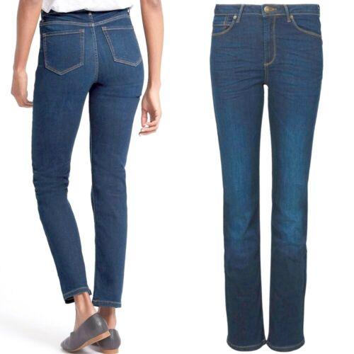 M/&s Sculpt et Lift Mid Rise Straight Leg Jeans ~ Var Tailles ~ Med Bleu RRP £ 35