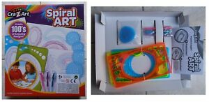 Spiral-ART-Crazart-spirografo-gioco-vintage-per-spirali-e-mandala-ruote-dentate