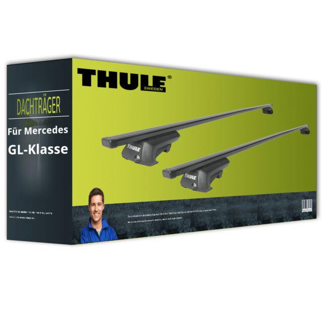 Thule SquareBar - Dachträger - Stahl - für Mercedes GL-Klasse Typ X166 inkl. EBA
