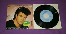 Paul Young Everything must change Japan 45 giri give me my freedom usato