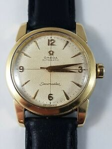 Omega Vintage seamaster automatic watch, Rare collector watch , working!