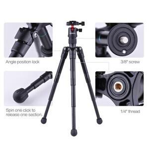 Portable-Mini-Tripod-W-Ball-Head-Quick-Release-Plate-for-Canon-Nikon-DSLR-Camera