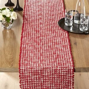 Details About Nwt Free Shipping Crate Barrel Peppermint 90 Table Runner