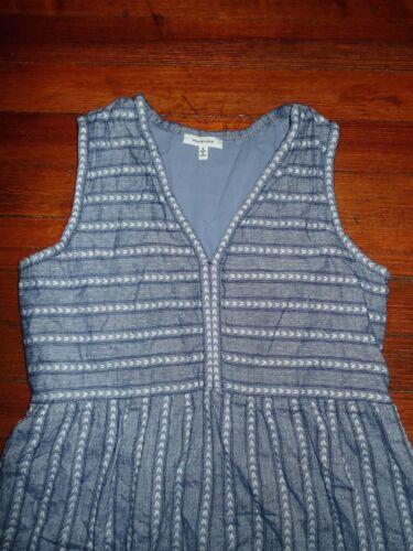 Max Studio 100% Cotton Embroidered Dress (Small)